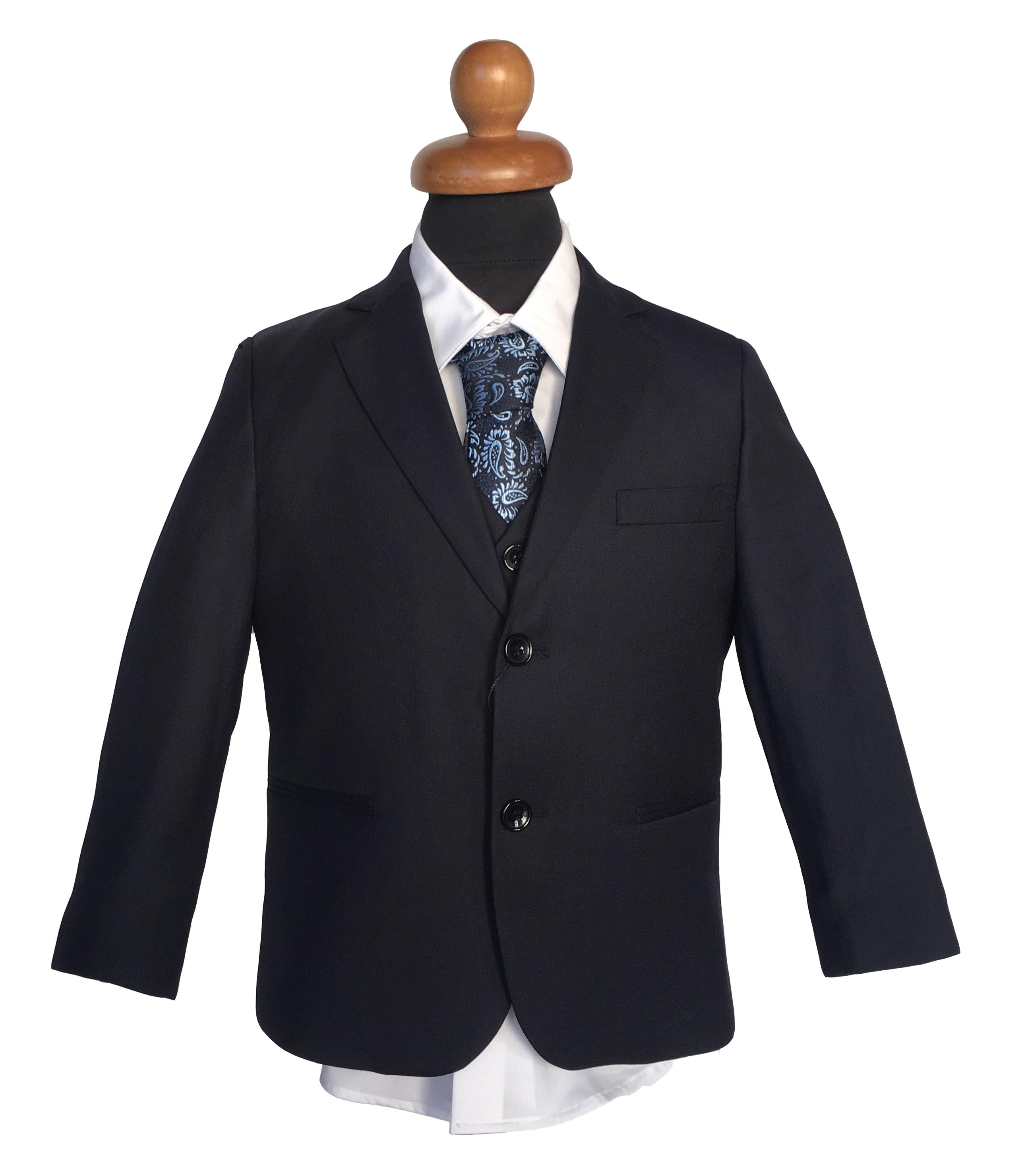 Κοστούμι σε Σκούρο Μπλε - Μαύρο 45d23efced8