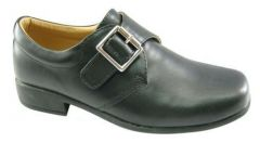"Boys Formal, Occasion Black Shoes ""Marko"""