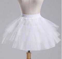 """Girls Underskirt, Petticoat, in WHITE """"Dory"""""""