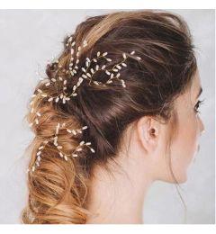 "Bridal Handmade Pearl Hair Pin Accessory for Bride, Bridesmaid ""Tarna"""
