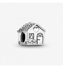 "Genuine Pandora 925 Sterling Silver Charm ""Little House Charm"""