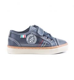 "Boys Smart - Casual Navy Blue Sneaker Shoes ""Gregory"""