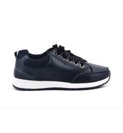 "Boys Smart - Casual Black Sneakers Shoes ""Mateo"""
