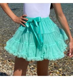 "Gorgeous Party, Wedding Tutu Pettiskirt in ACQUA ""Jodie"""