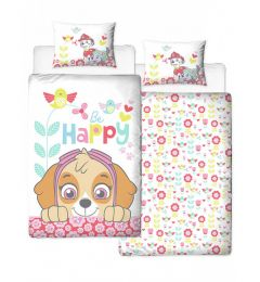 Paw Patrol Bright Single Duvet Cover And Pillowcase Set