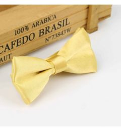 "Boys Yellow Satin Bow Tie ""Dimi"""