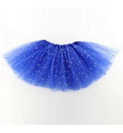 "Girls Pettiskirt Princess Tutu Skirt Party Ballet Dance Skirt in Royal Blue ""Hazel"""