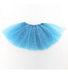 "Girls Pettiskirt Princess Tutu Skirt Party Ballet Dance Skirt in TURQUOISE ""Hazel"""