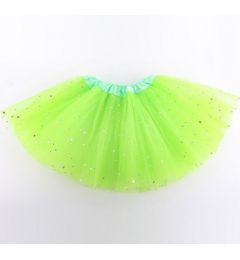 "Girls Pettiskirt Princess Tutu Skirt Party Ballet Dance Skirt in LIME ""Hazel"""