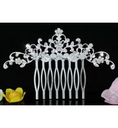 "Bridal Wedding Hair Comb with Swarovski Crystals ""Vivienne"""