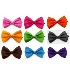 "Boys Different Coloured Satin Bow Tie ""Aron"""