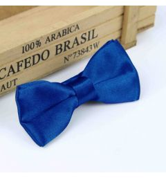 "Boys Royal Blue Satin Bow Tie ""Dimi"""