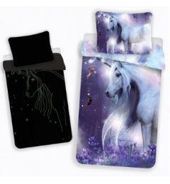 Mystical Unicorn Reversible Children Single Duvet Cover Quilt Cover Bedding Set