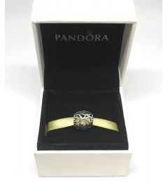"""Genuine Pandora 925 Stirling Silver Charm """"Hearts All Over"""""""
