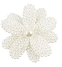 Flower Bridal Hair Accessory Pearls for Women - Girls
