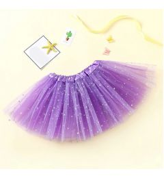 "Girls Pettiskirt Princess Tutu Skirt Party Ballet Dance Skirt in LILAC ""Hazel"""