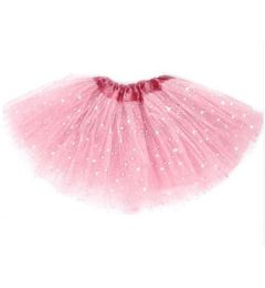"Girls Pettiskirt Princess Tutu Skirt Party Ballet Dance Skirt in Pink ""Hazel"""