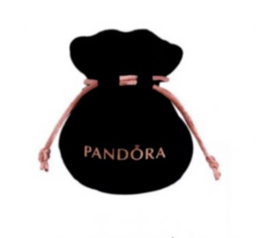 """Genuine Pandora 925 Sterling Silver and Gold Charm """"Princess Heart"""""""