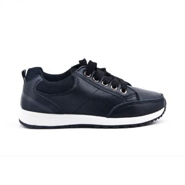 """Boys Smart - Casual Black Sneakers Shoes """"Mateo"""""""