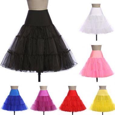 """Retro Underskirt, 50s Swing Vintage Petticoat, Rockabilly Tutu, Fancy Net Skirt """"Swing"""""""