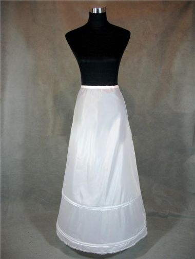 "2 Hoop Underskirt - Petticoat - Crinoline For Straight Column Style Dress ""Alvina"""