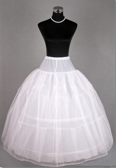 3 Hoop Net Underskirt - Petticoat - Crinoline, for wedding - Ball gown dress